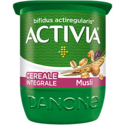 Iaurt cu musli 2.8% grasime 125g