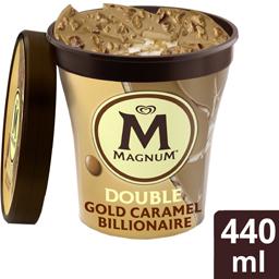 Inghetata Double Gold Caramel 440ml