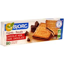 Biscuiti bio umpluti cu ciocolata neagra 150g