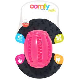 Jucarie pentru caini Comfy Mint Dental roz 8 x 6.5 cm