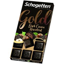 Ciocolata cu cacao si alune 100g