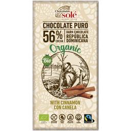 Ciocolata neagra bio cu scortisoara 100g