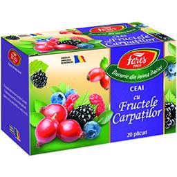 Ceai Fructele Carpatilor 20 plicuri 20x2g