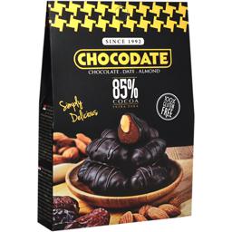 Curmale glazurate in ciocolata 85% cacao 80g