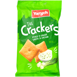 Crackers cu aroma de smanatana si ceapa 80g