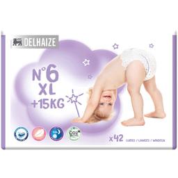 Scutece bebelusi Marimea 6 XL, +15 kg, 42 buc