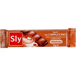 Tableta ciocolata cu crema cappucino fara zahar 25g