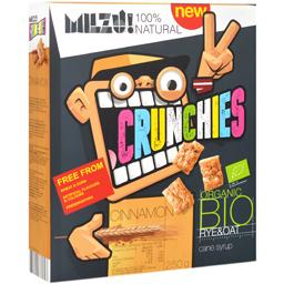 Cereale Crunchies Bio cu scortisoara 250g