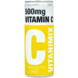 Bautura racoritoare carbogazoasa Vitamina C 250ml