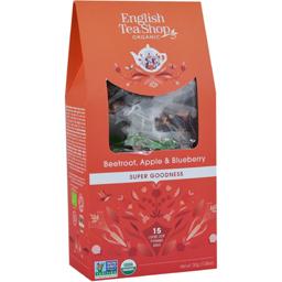 Ceai de sfecla, mar si afine pyramid eco 30g