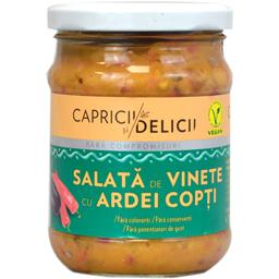 Salata vinete cu ardei copt 250g
