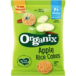 Rondele ecologice din orez cu mere +7 luni 50g