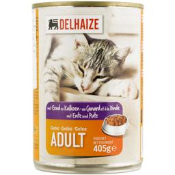 Mancare umeda pentru pisici cu rata si curcan 405g