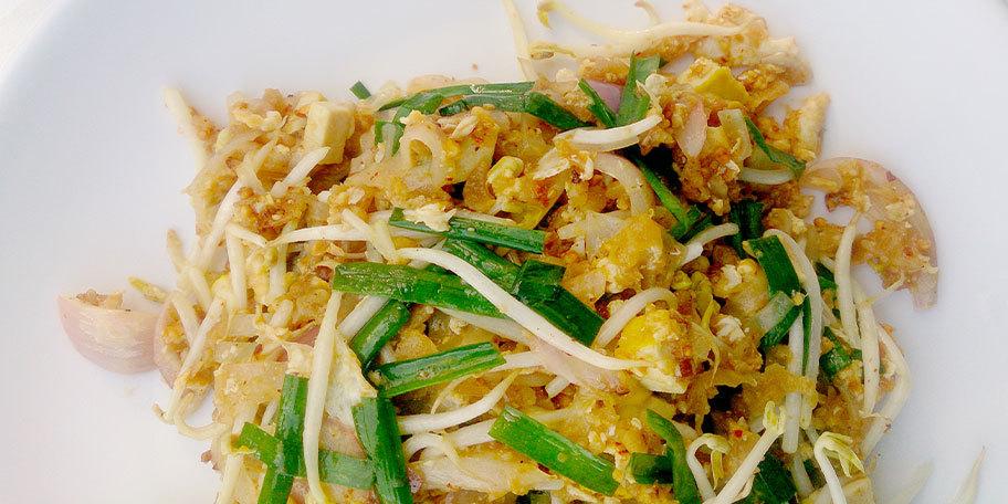 Noodles cu mix de legume si ou moale