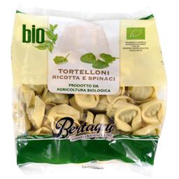 Paste bio Tortelloni cu ricotta si spanac 250g