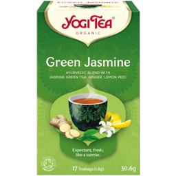 Ceai ecologic verde cu iasomie 30.6g