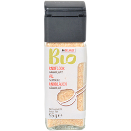 Condimente bio usturoi macinat 55g