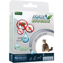Pipete antiparazitare pentru pisici 5x1ml