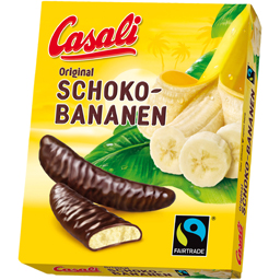 Batoane de ciocolata cu crema de banane 150g