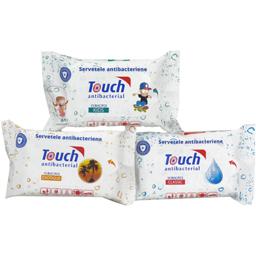 Servetele umede antibacteriene Violet 15 bucati