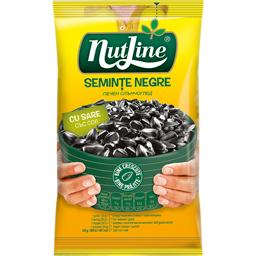Seminte negre de floarea-soarelui sarate si prajite 40g