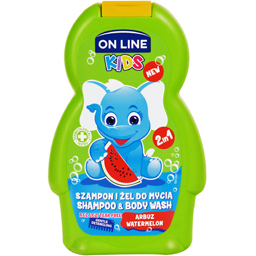 Sampon si gel de dus cu pepene 250ml