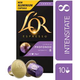 Cafea Espresso Lungo Profondo 8, 10 capsule