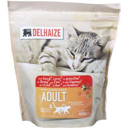 Hrana pentru pisici cu vita, ficat si legume 400g