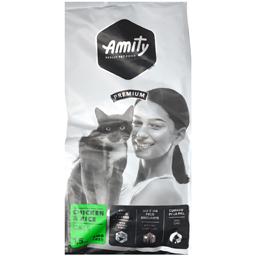 Hrana uscata pentru pisici, Adult, pui si orez 1.5kg