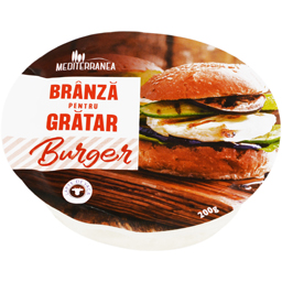 Branza pentru burger gratar 200g