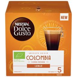 Cafea Lungo Colombia bio, 12 capsule