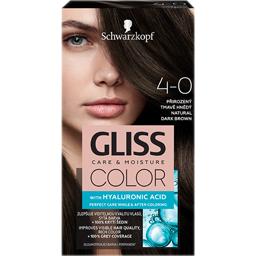Vopsea de par permanenta Color 4-0 Saten Inchis Natural 143ml