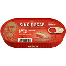 File hering cu sos tomat 170g