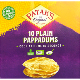 Pappadums - paine traditional indiana 100g