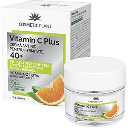 Crema antirid pentru fermitate 40+ Vitamin C Plus