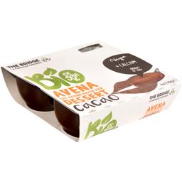 Desert cu ovaz si cacao bio 4x110g