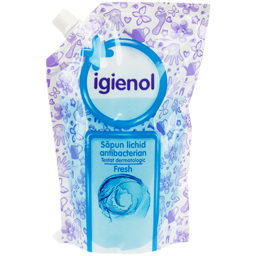 Sapun lichid antibacterian, Fresh, rezerva 500ml