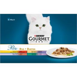 Hrana umeda pentru pisici, Duetos 4x85g