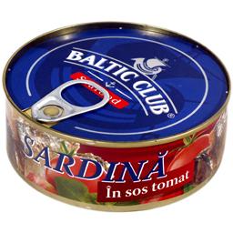 Sardina in sos de tomate 240g