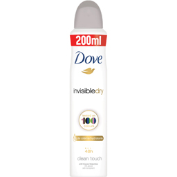 Deo spray invisible dry 200ml