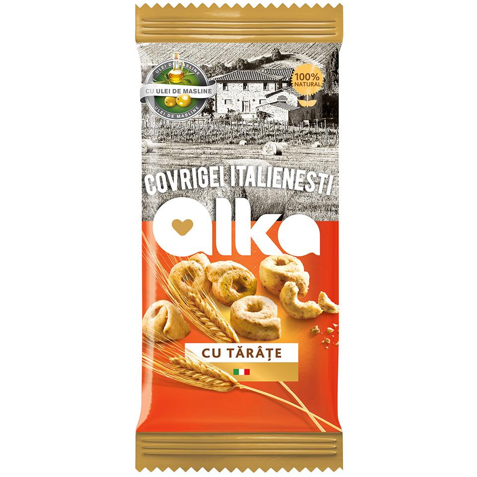 Alka-Covrigei italienesti