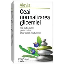 Ceai pentru normalizarea glicemiei 20 plicuri 20x1.7g