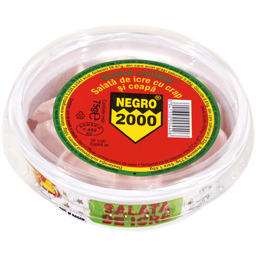 Salata de icre cu crap si ceapa 75g