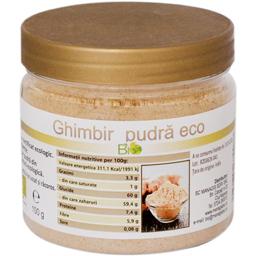 Ghimbir bio pudra 100g