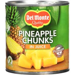 Ananas bucati in suc propriu 435g