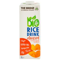 Bautura bio din orez si migdale 1l