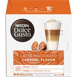 Cafea Latte Macchiato Caramel 8x2 capsule