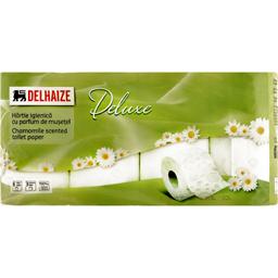 Hartie igienica 8 role, 3 straturi cu parfum de musetel