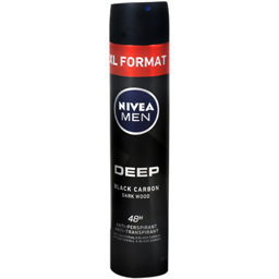 Deodorant spray Deep Black carbon 200ml