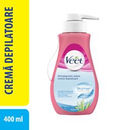 Crema depilatoare pentru piele sensibila 400ml